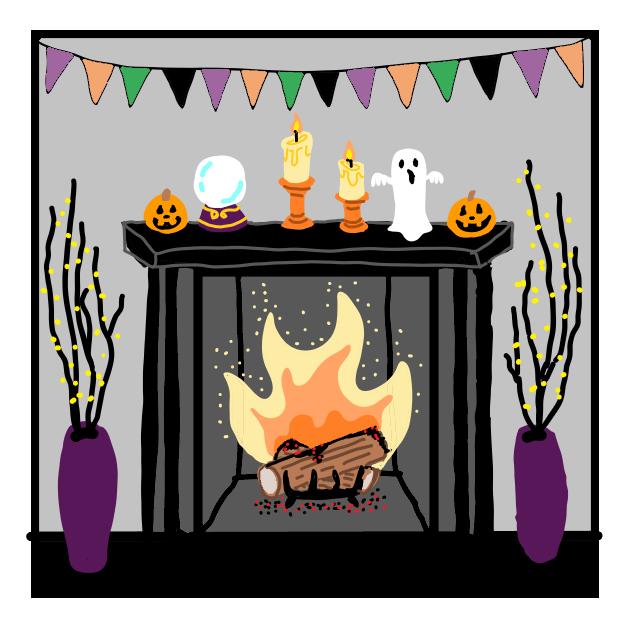 Halloween Bingo Decorate