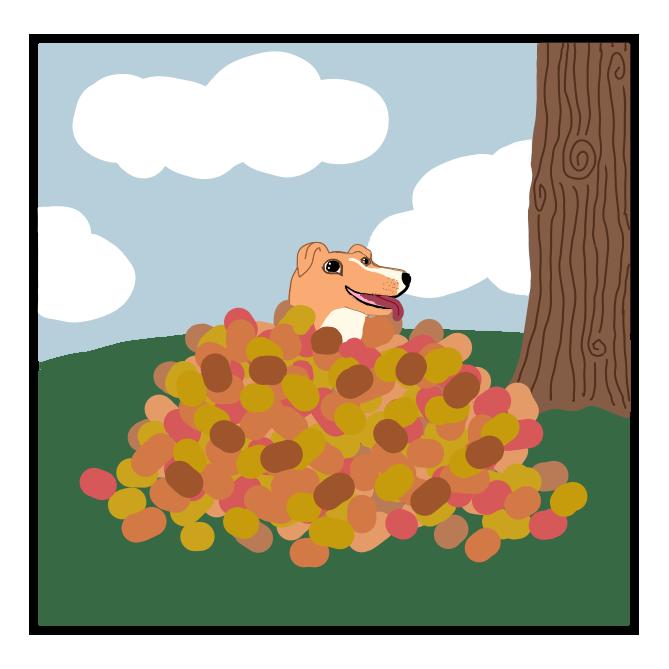 Halloween Bingo Leaves